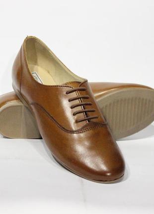 Шикарні шкіряні туфлі pier one, німеччина-оригінал