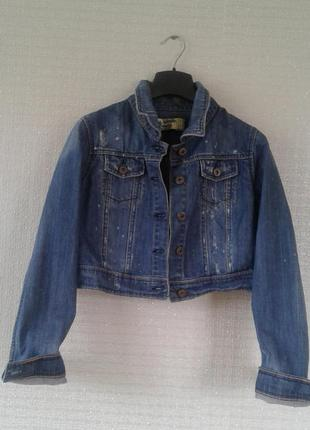 Джинсовая куртка authentic denim