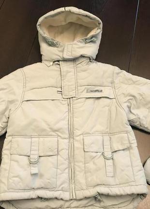 Зимний комплект куртка и комбез coccodrillo не lenne reima