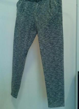 Меланжево- сірі штани