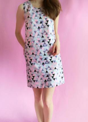 Стильное домашнее платье с карманами