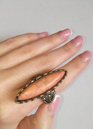 Кольцо перстень в винтажном стиле accessorize