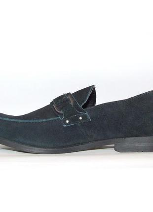 Замшевые туфли marc anthony ! цена-качество! временная скидка)