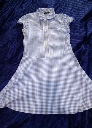Платье в клеточку george