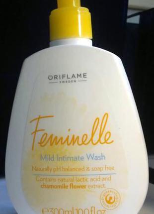 Feminelle очищающее средство для интимной гигиены с экстрактом ромашки