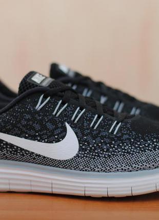43098864 Черные беговые кроссовки nike free run distance, найк. 40 размер. оригинал