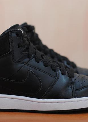 Черные женские высокие кроссовки, кеды nike backboard, найк. 36 размер. оригинал