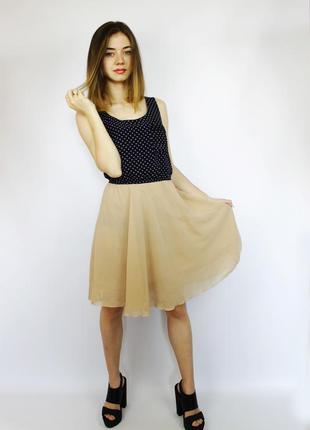 Акция легкое повседневное шифоновое платье new look