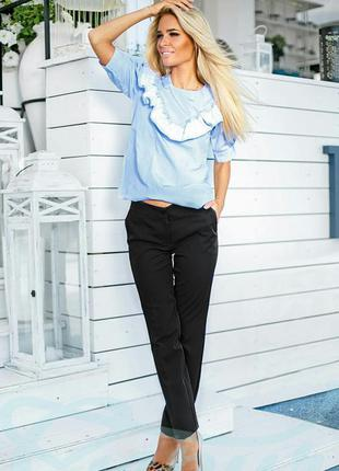 Поделиться:  классические женские брюки.