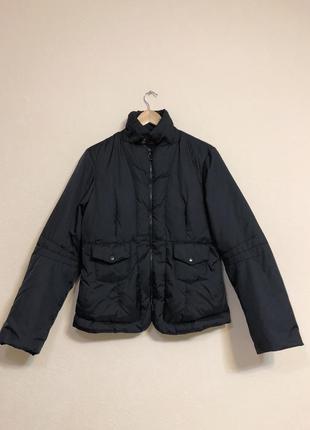 Черная демисезонная куртка cop copine