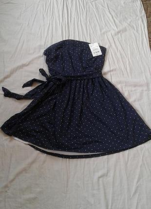 Плаття в горошок