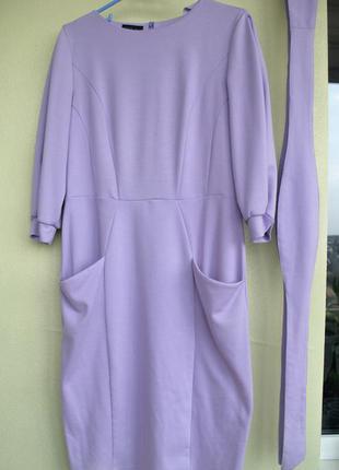 Платье сиреневого цвета grand ua