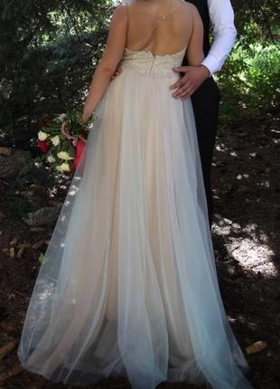 Вечернее, выпускное, свадебное платье