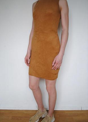 Платье под замш river island
