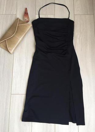 Сексуальное вечернее платье миди