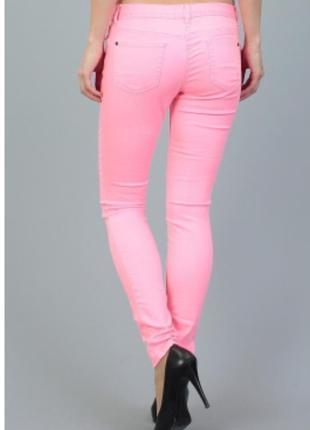 Яркие джинсы skinny tom tailor denim. скинни
