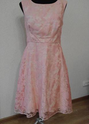 Нежнейшее выпускное коктейльное вечернее платье