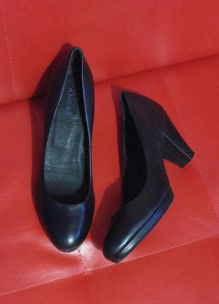 Туфли andre из натуральной кожи