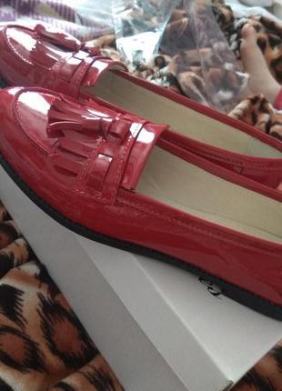 ... 25.8см кожаные лоферы туфли soldi шелдон-pr 39р красные на низком ходу2  ... a3ad52c6e07