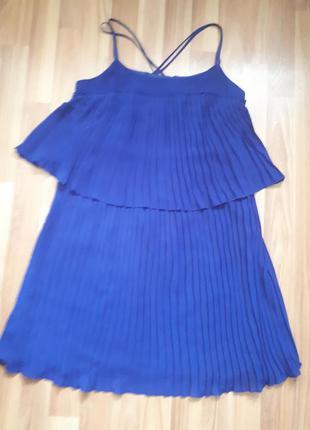 Платье плисировка