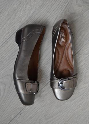Кожаные туфли hotter, англия. оригинал