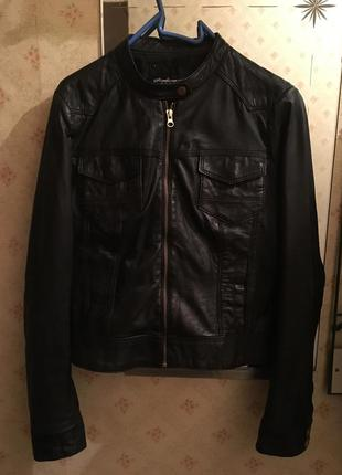 Куртка из натуральной кожи , кожанка