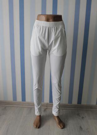 Продам брюки, штаны белые,прозрачные