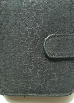 Черный кошелечек