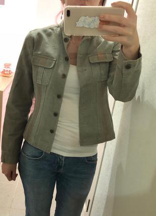 Джинсовая куртка / пиджак principles, размер 38 (10)