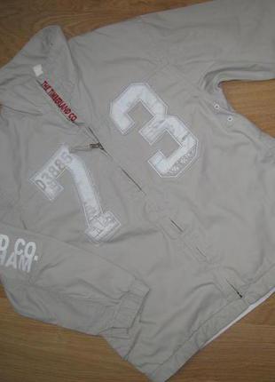 Куртка ветровка timberland 6лет