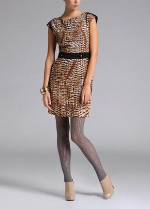 Стильное платье оригинальной расцветки