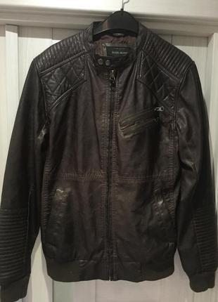 River island кожаная куртка