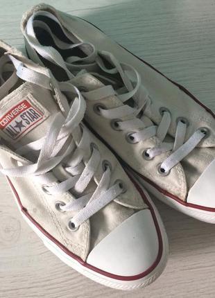 Кеды converse белые