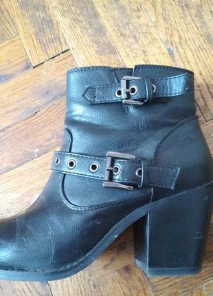 Ботинки new look на каблуке