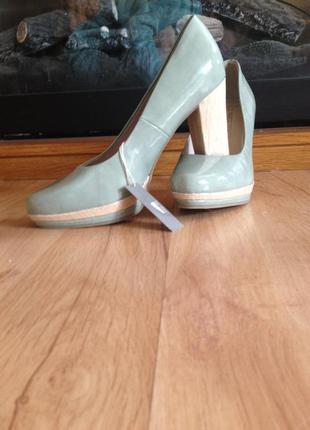Туфли кожа marco tozzi