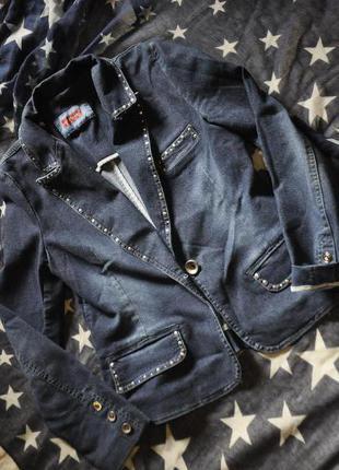 Джинсовая куртка . курточка джинс