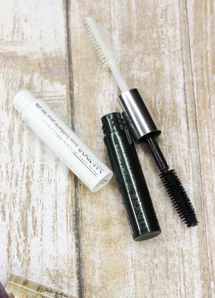 Тушь и праймер два в одном clinique dual-ended high impact mascara & primer duoбесплатная