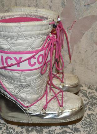 Сапоги дутыши луноходы juicy couture размер 40 - 41