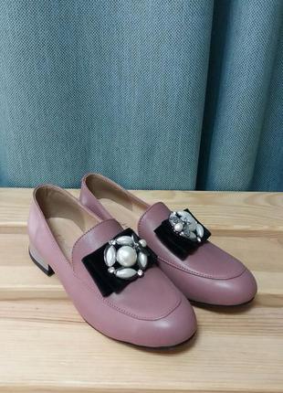 Шикарные туфли на низком ходу