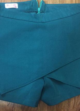 Шорты юбка в стиле zara