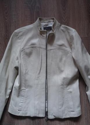 Курточка 100% кожа италия