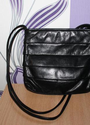Маленькая кожаная сумка tula