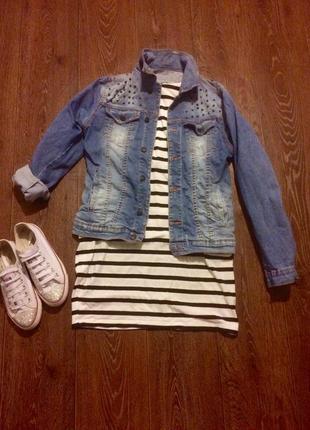 Джинсовка , джинсовая куртка zara