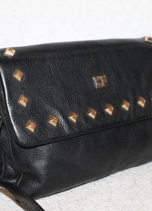 Стильная кожаная сумка кроссбоди/crossbody katerina fox