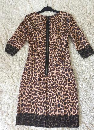 Стильне плаття з якісної тканини,ідеально лягає по фігурці!!!розмір 38.