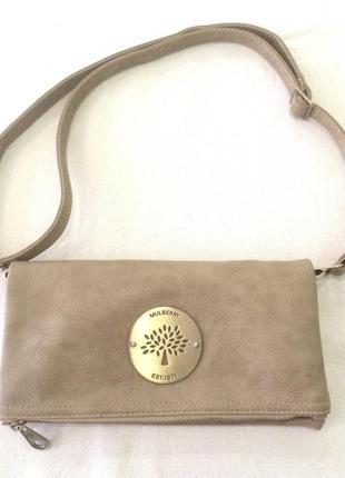 Классная сумка клатч mulberry