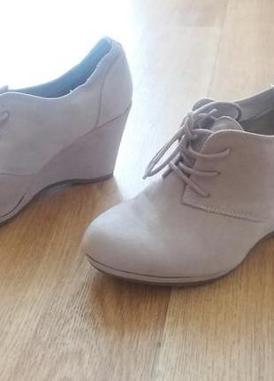 Стильные туфли graceland ботинки ботильоны платформа