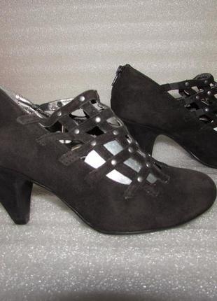 Next ~великолепные замшевые туфли ~р 36-37