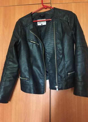 Кожаная куртка, косуха, cropp