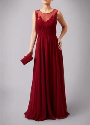 Шикарнейшее длинное вечернее платье / выпускное платье